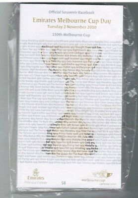 2010 Melbourne Cup Official Race Book - Americain - Horse Racing