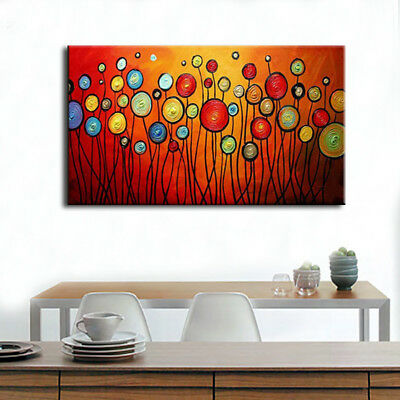 Hand-painted Modern Art Scene Abstract oil painting On Canvas Wall Home Decor