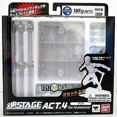 In Stock Bandai Tamashii Stage Act 4 Stage for Humanoid D-arts Figuarts set of 3
