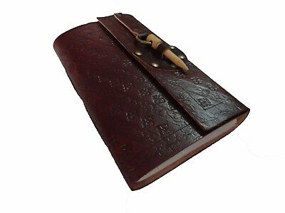 Vintage Leather Journal Diary Blank Notebook Bound Book Sketchbook Handmade