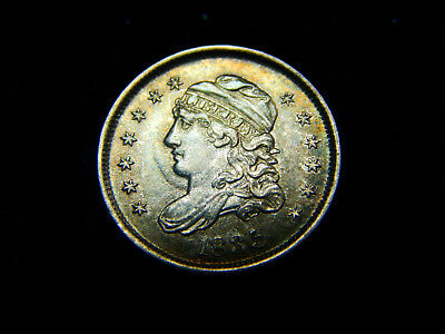 1835 H10C Capped Bust Half Dime Large Date, Small 5c MS++ BU UNC, Nice!
