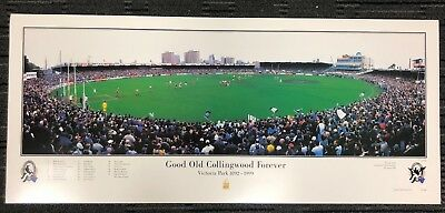 Good Old Collingwood Forever Last Game Victoria Park Print Buckley Shaw Rocca