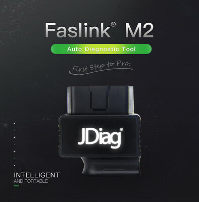 JDiag Faslink M2 BlueDriver Professional OBDII Scan Tool iOS Android Code Reader