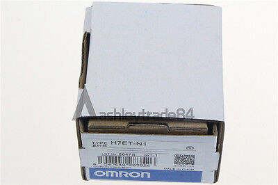 1PCS NEW Omron Time Counter H7ET-N1