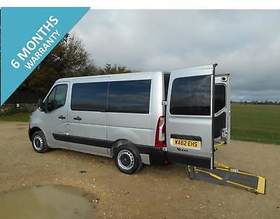 2012 Renault Master Sl28 5 Seat  Wheelchair Accessible Disabled Minibus