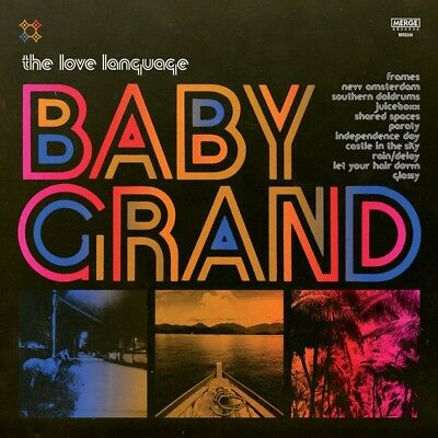 The Love Language - Baby Grand (Pink/Yellow Marble Vinyl) MRG596LPC1
