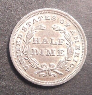 United States US 1838 Seated Liberty Dime silver Coin  High grade aUNC WOW!!!