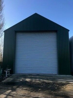 Steel Building Frame Kit Commercial Garage Unit Or Warehouse