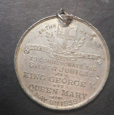Great Britain 1935 KGV  Jubilee of Coronation Medal
