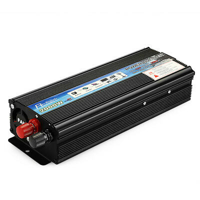 Car Inverter 2000W AC 220V Vehicle Power Supply Switch On-board Charger