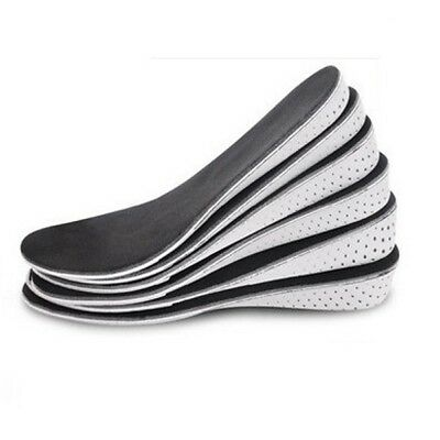 Memory Foam Height Increase Elevator Insoles Pads Soles Foot Pad Inserts Massage