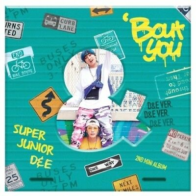 Super Junior D&E-[Bout You] D&E Ver CD+Booklet+PhotoCard+Free Gift POSTER Sealed