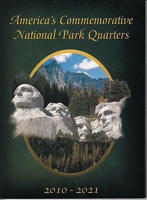 Beautiful National Park Quarters Folder Coin Collection Gift Album 2010 2021