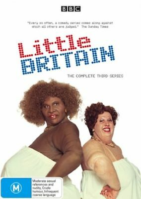 Little Britain, Third Series, 2 Disc Set, Region 4, New And Sealed Free Post