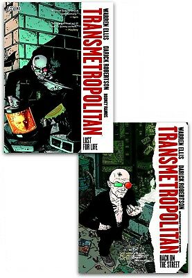 Transmetropolitan Collection 2 Books Set Pack Lust For Life, Back on the Street