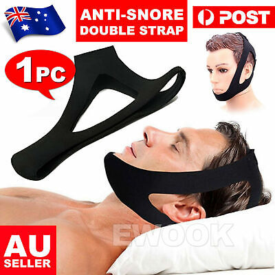 Stop Snoring Chin Strap Anti Snore Sleep Apnea Belt Device Solutions Jaw