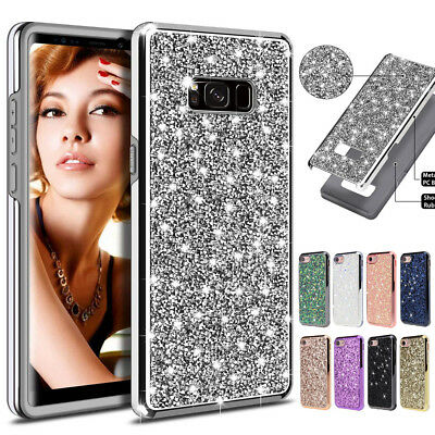 Shockproof Bling Glitter Diamond Case Cover For Samsung Galaxy Note 9 S8 S9 Plus