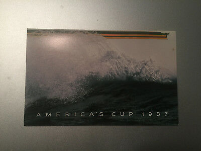 4 Australian stamps: America's Cup Commemorative Stamps from 1987