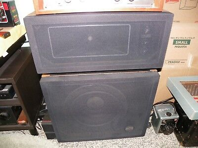 VINTAGE EXCEPTIONAL ALTEC Lancing Model 14 Speakers Collectible Sound  Fantastic