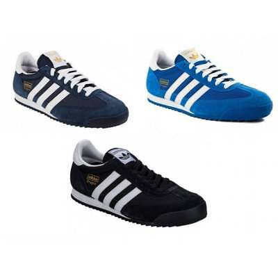 Adidas Dragon Mens Trainers All Sizes In Various Colours
