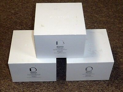 Lot of 3 Original EMPTY BOXES from 38mm & 42mm Stainless Steel Apple Watch