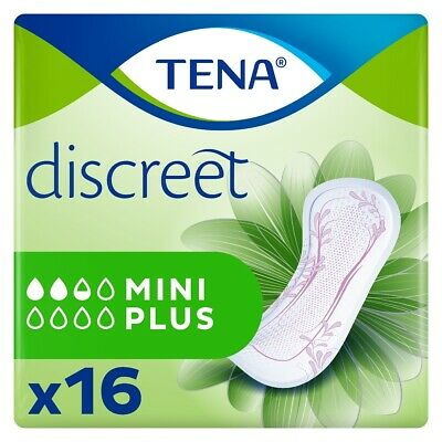 TENA Lady Discreet Mini Plus - Paquet de 16
