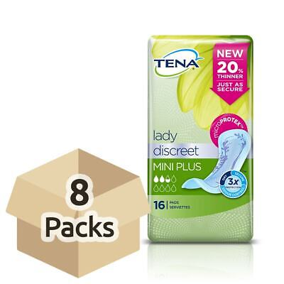 TENA Lady Discreet Mini Plus - Étui - 8 par 16