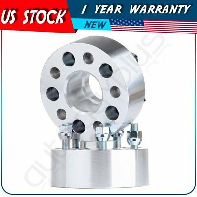 """2Pcs  2"""" 50mm Thick 5x100 Wheel Spacers 12x1.25 Studs For 2014-2016 Subaru BRZ"""