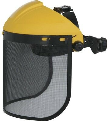 DELTA PLUS PICO 2 forestry chainsaw safety gauze mesh visor face screen complete