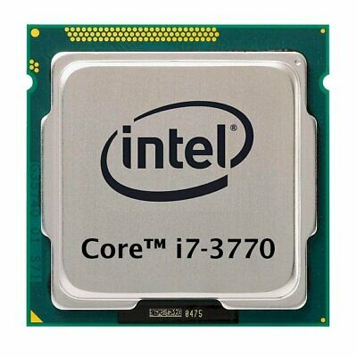Intel Core i7-3770 (4x 3.40GHz) SR0PK CPU Sockel 1155   #35107