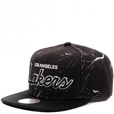 Lakers Homme Snapback Basketball Noir Mitchell & Ness
