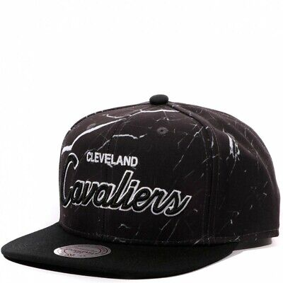 Cavaliers Homme Snapback Basketball Gris Mitchell & Ness