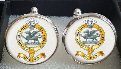 Queens Regiment Cufflinks - A Great Gift
