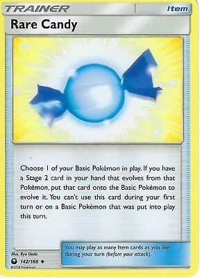 Pokemon SM Celestial Storm Trainer Card: Rare Candy - 142/168