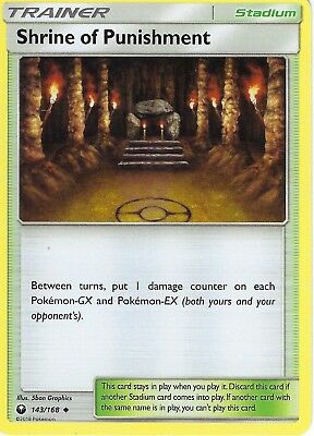 Pokemon SM Celestial Storm Trainer Card: Shrine of Punishment - 143/168