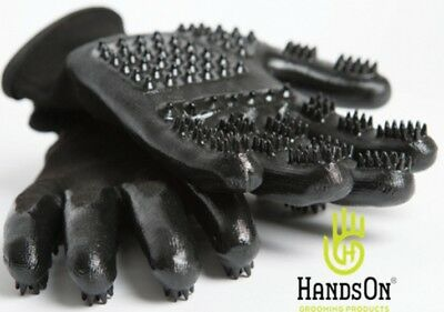 HandsOn Grooming Gloves Size Small Color Black