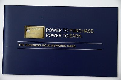 American express the business gold rewards card brochure booklet american express the business gold rewards card brochure booklet advertisement colourmoves
