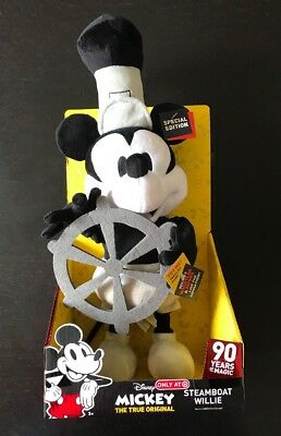 Disney Mickey Mouse 90th Anniversary Steamboat Willie  Special Edition