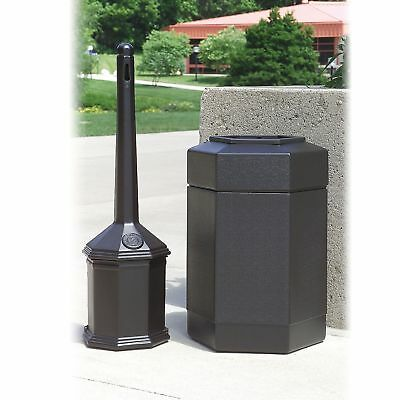 Commercial Garbage Can CigaretteButtReceptical Disposal Ashtray Outdoor Large