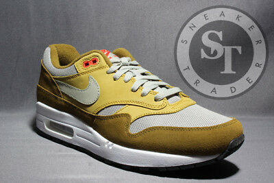 eda5d43864 Nike Air Max 1 Premium Retro 908366-300 Green Curry Olive Spruce Ds Size: