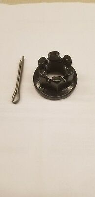 "1"" Castle Nut And Cotter Pin For Rotary Cutter Gearbox"
