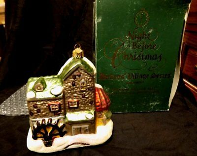 Vintage Dept 56 Ornament~Dickens Village Mill~Night Before Christmas~1997