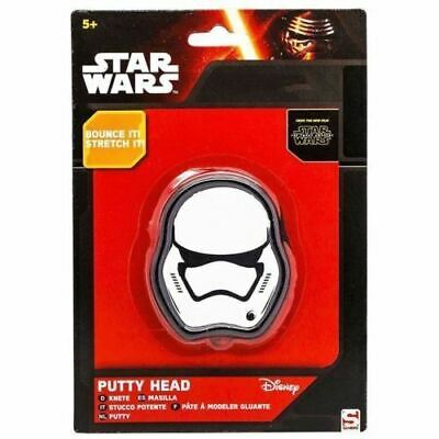 Star Wars Putty Head Bouncing Reshaping Storm Trooper Fun Childs