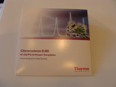 NEW SEALED Thermo Fisher Chromeleon 6.80 Chromatography Data System (PN:075433)