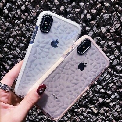 Girl Crystal Clear Shockproof Soft Silicone Case For iPhone 11 Pro Max XR 78Plus