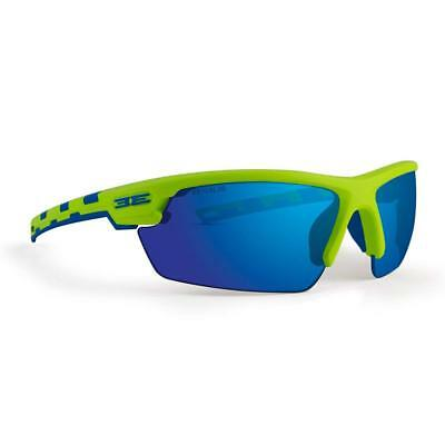 7a4ce38dcc New Epoch Eyewear Link Golf Sport Lime Blue Frame With Orange Lens  Sunlgasses