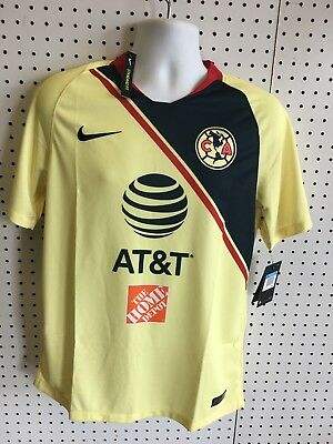 989580639d Nike Club America Official 2018-2019 Home Soccer Football Jersey size Medium