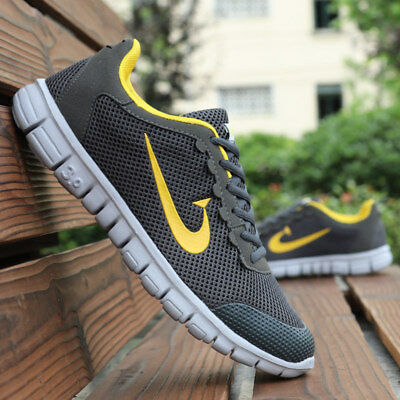 Men's Athletic Shoes Outdoor Sneakers Casual Trainers Sports Mesh Breathable New