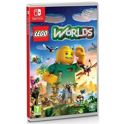 Lego Worlds Nintendo Switch Game | Nintendo Switch - New Game
