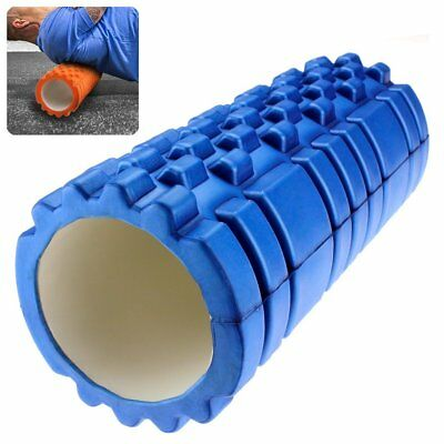33x14cm Foam Roller Grid EVA Physio Pilates Yoga Gym Exercise Trigger Point AU